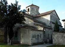 Saint Marcel les Sauzet (Drôme): l'église