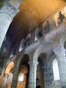 Saint Nectaire: Voûte de la nef
