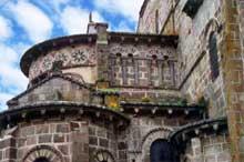 Saint Nectaire (Puy du Dôme): Le chevet