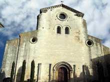 Saint Paul Trois Châteaux (Drôme): ancienne cathédrale sainte Marie et saint Paul. Façade occidentale
