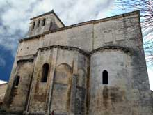 Saint Paul Trois Châteaux (Drôme): ancienne cathédrale sainte Marie et saint Paul. Le chevet