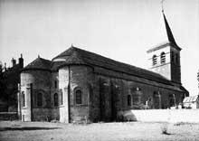Saint Révérien (Nièvre): l'église prieurale