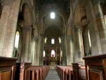 Saint Saturnin (Puy du Dôme): la nef