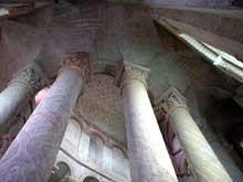 Saint Savin sur Gartempe (Vienne): l'église abbatiale, le déambulatoire