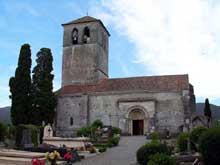 Valcabrère (Haute Garonne): basilique saint Just: flanc nord