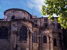 Valence (Drôme): cathédrale saint Apollinaire, Le chevet