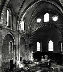 Vienne (Isère): saint André le Bas: chœur de l'église