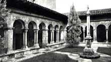 Vienne (Isère): saint André le Bas: le cloître