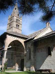 Les Vigneaux (Hautes Alpes): l'église