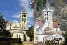 Vignory (Haute Marne): l'église saint Etienne