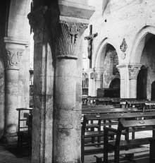 Villers saint Paul (Oise)�: l��glise. La nef vers le ch�ur