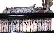 Jean de Marville (mort en 1389), Claus Sluter et Claus de Werve: Tombeau de Philippe le Hardi. Dijon, Musée des Beaux Arts