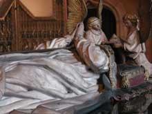 Jean de Marville (mort en 1389), Claus Sluter et Claus de Werve: Tombeau de Philippe le Hardi. Dijon, Musée des Beaux Arts. Détail