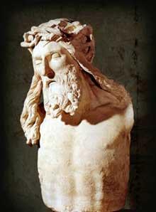 Claus Sluter (1350-1406). Buste du Crucifié. Musée Archéologique de la Ville de Dijon