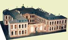 Robert de Cotte: château de Thurn und Taxis de Frankfurt. Maquette