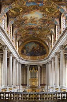 Jules Hardouin-Mansart: chapelle du château de Versailles