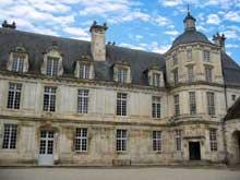 Pierre le Muet: le château de Tanlay en Bourgogne