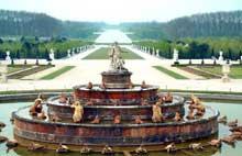 André le Nôtre: château de Versailles: le bassin de Latone