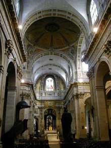 François le Vau: intérieur de l'église saint Louis en l'Île