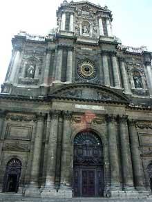 Ange-Etienne Martellange: l'église Saint-Paul-Saint-Louis