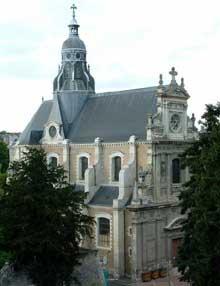 Ange-Etienne Martellange, Charles Turmel; Eglise Saint-Vincent-de-Paul de Blois, Ancienne chapelle Saint-Louis du collège des Jésuites. 1624-1660
