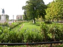 Montpellier: promenade du Peyrou