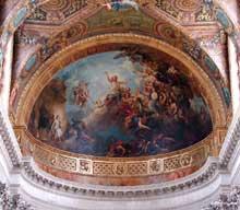 Charles de La Fosse: cul de four de la chapelle royale de Versailles