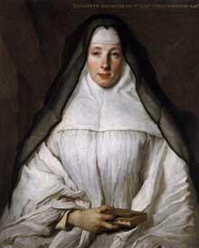 Nicolas de Largillière (1656 - 1746): portrait d'Elizabeth Throckmorton. Vers 1729. Huile sur toile, 82 x 66 cm. Washington, National Gallery of Art
