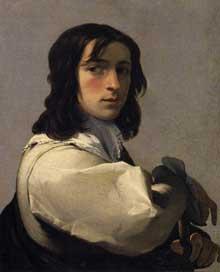Eustache Le Sueur: Portrait d'un jeune homme. 1640. Huile sur toile, 64 x 52cm. Hartford, Wadsworth Atheneum