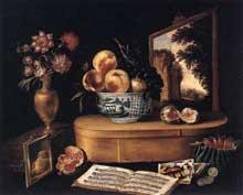 Jacques Linard: les cinq sens.1638. Huile sur toile, 55 x 68 cm. Strasbourg, Musée des Beaux Arts
