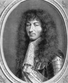 Robert Nanteuil: LouisXIV. 1644. Gravure. Londres, British Museum