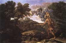 Nicolas Poussin: l'Assomption de la Vierge. 1650. Oil on canvas, 57 x 40cm. Paris, Musée du Louvre