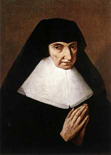 Jean Tassel: portrait de Catherine de Montholon. Huile sur toile, 54 x 40 cm. Dijon, Musée des Beaux Arts.