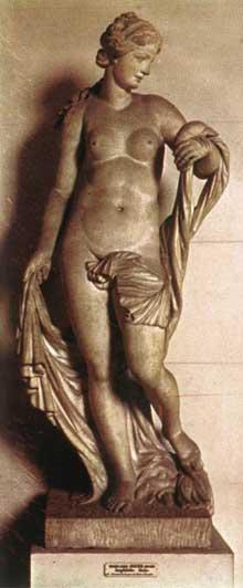 Michel Anguier: Amphitrite. 1680. Marbre, 198cm. Paris, musée du Louvre