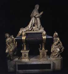 Antoine Coysevox: tombeau de Colbert. 1685-1687. Paris, Saint Eustache
