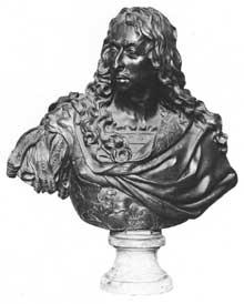 Antoine Coysevox: buste du Grand Condé. 1688. Bronze, 59cm. Paris, Musée du Louvre
