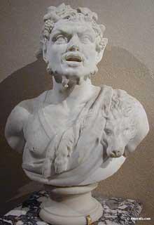 Louis Lerambert: satyre. Marbre. Musée du Louvre