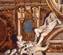 Balthazar Marsy: le verseau. Louvre, galerie d'Apollon