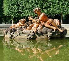 Balthazar et Gaspard Marsy: l'île de l'Automne. Parc de Versailles.