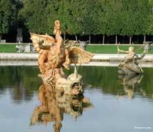 Balthazar et Gaspard Marsy: la Fontaine du Bassin du Dragon du parc du château de Versailles
