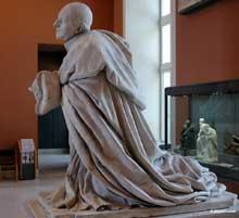Jacques Sarrazin: cénotaphe du coeur du cardinal Pierre de Bérulle (1575-1629), fondateur de la congrégation séculière de l'Oratoire (1611). Paris, musée du Louvre