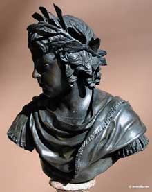 Jacques Sarrazin: ouis XIV à l'âge de 5 ans. 1642. Bronze. Paris, musée du Louvre