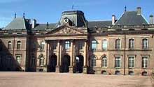 Germain Boffrand (1667-1754): la château de Lunéville