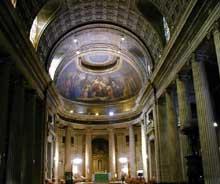 Jean François Thérèse Chalgrin (1739-1811): Saint Philippe du Roule (1774-1784), l'intérieur