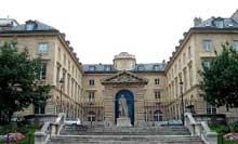 Jean François Thérèse Chalgrin (1739-1811): Paris, Collège de France: Façade place Marcelin-Berthelot
