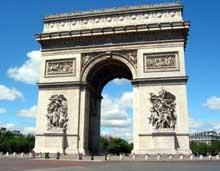 Jean François Thérèse Chalgrin (1739-1811): l'Arc de Triomphe de l'Etoile (1806-1811