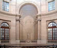 Pierre Contant d'Ivry (1698-1777): Grand escalier d'honneur du Palais Royal. Paris