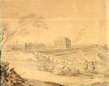 Jean Cailleteaux «Lassurance le Jeune» (1690-1755): le château de Bellevue à Meudon par André Portail