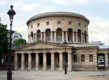 Claude Nicolas Ledoux (1736-1806): Rotonde de la Villette à Paris, ancien pavillon du mur des Fermiers généraux