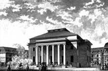 Claude Nicolas Ledoux (1736-1806): Projet pour le théâtre de Besançon, 178